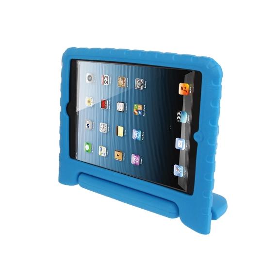 AppleKing pěnový obal odolný proti pádu pro děti na iPad mini / mini 2 Retina - modrý - možnost vrátit zboží ZDARMA do 30ti dní