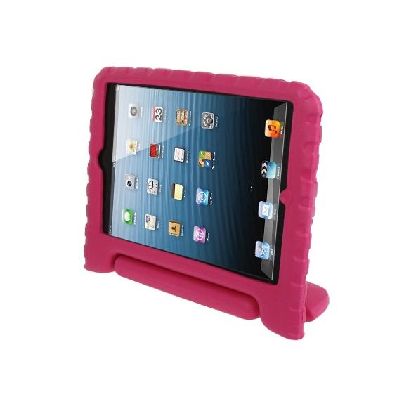 AppleKing pěnový obal odolný proti pádu pro děti na iPad mini / mini 2 Retina – růžový - možnost vrátit zboží ZDARMA do 30ti dní
