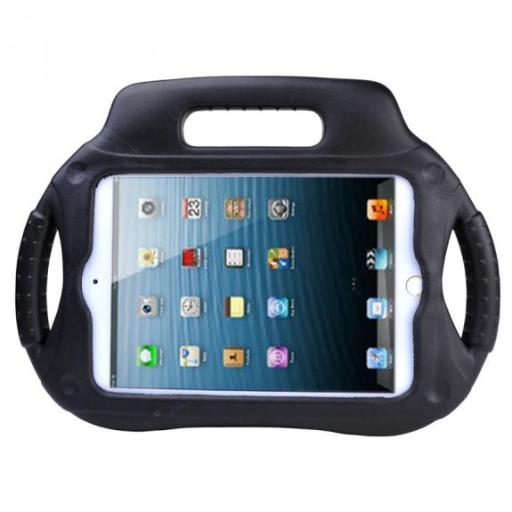 """AppleKing pěnový obal odolný proti pádu pro děti styl """"handheld"""" pro iPad mini / mini 2 Retina – černý - možnost vrátit zboží ZDARMA do 30ti dní"""