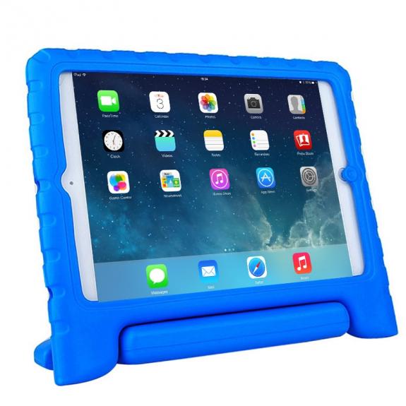 AppleKing pěnový obal odolný proti pádu pro děti na iPad Air - modrý - možnost vrátit zboží ZDARMA do 30ti dní
