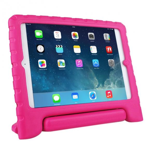 AppleKing pěnový obal odolný proti pádu pro děti na iPad Air – růžový - možnost vrátit zboží ZDARMA do 30ti dní