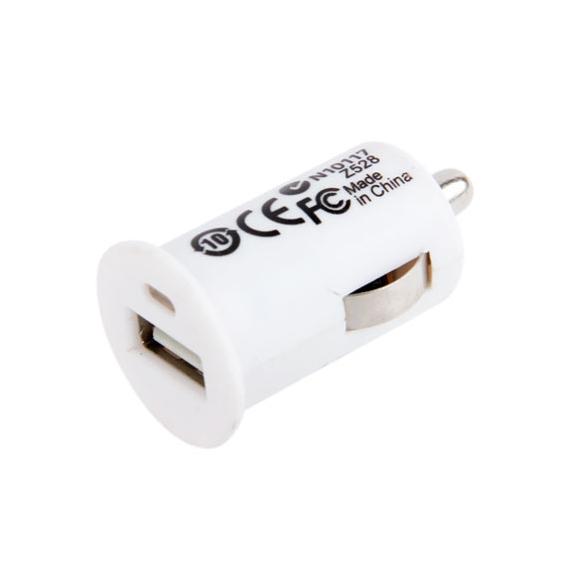 AppleKing uSB nabíječka do auta (1A) - bílá - možnost vrátit zboží ZDARMA do 30ti dní