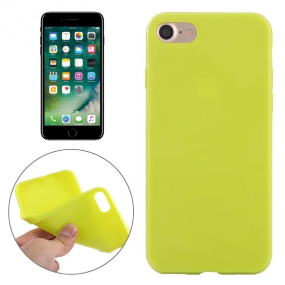 AppleKing gumový hladký kryt pro Apple iPhone 7 - zelený - možnost vrátit zboží ZDARMA do 30ti dní