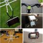 """Univerzální stojánek / držák """"pavouk"""" pro iPhone / iPod - černý"""