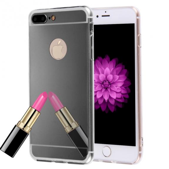 AppleKing zrcadlový ochranný kryt pro Apple iPhone 8 Plus   7 Plus - černý  - možnost a65dfc953fd