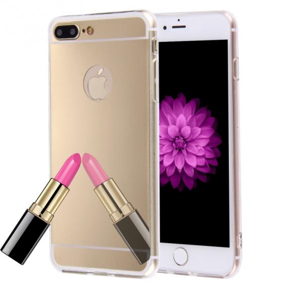 AppleKing zrcadlový ochranný kryt pro Apple iPhone 8 Plus   7 Plus - zlatý  - možnost fc343589f9d