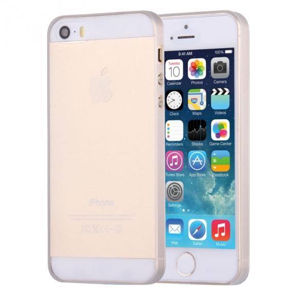 AppleKing ultra tenký (0.4mm) průhledný polykarbonátový kryt pro iPhone 5 / 5S / SE - možnost vrátit zboží ZDARMA do 30ti dní