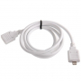 Prodlužovací kabel lightning Male / Female pro iPhone / iPad / iPod - 1m - bílý