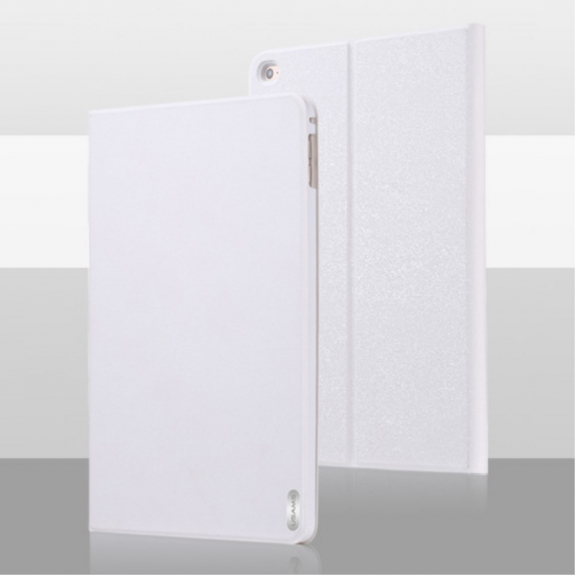 USAMS luxusní magnetické pouzdro s integrovaným stojánkem pro Apple iPad Air 2 - bílé - možnost vrátit zboží ZDARMA do 30ti dní