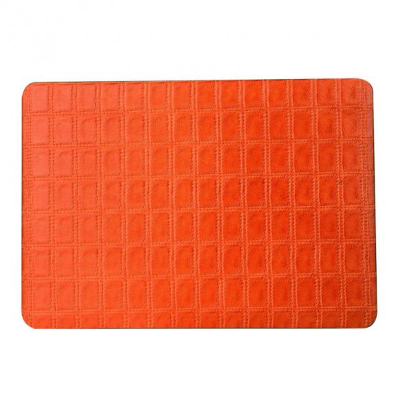 """AppleKing ochranný obal / kryt s koženým povrchem se vzorem mřížky pro MacBook Air 13"""" (model"""
