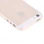 Ultra tenký (0.4mm) průhledný polykarbonátový kryt pro iPhone 5 / 5S / SE
