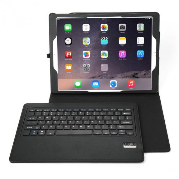 """AppleKing pouzdro s odnímatelnou klávesnicí pro Apple iPad Pro 12.9"""" - možnost vrátit zboží ZDARMA do 30ti dní"""