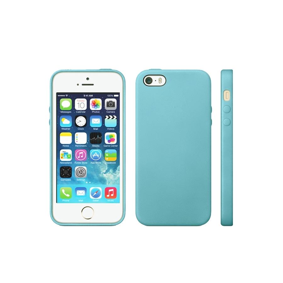 Kryt v originálním Apple designu pro iPhone 5   5S   SE - modrý ... c2541853128