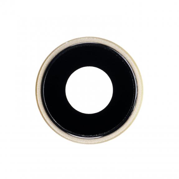 AppleKing náhradní ocelový kruh zadní kamery pro Apple iPhone XR - žlutý - možnost vrátit zboží ZDARMA do 30ti dní