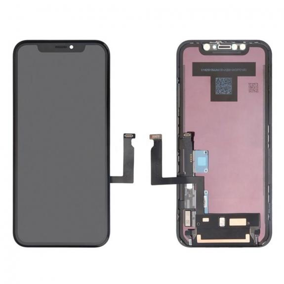 AppleKing náhradní LCD displej s dotykovým sklem a rámečkem pro Apple iPhone XR - možnost vrátit zbo