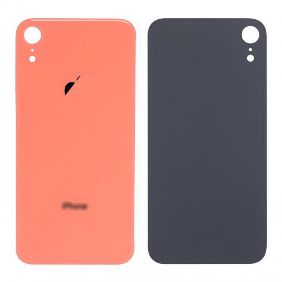 AppleKing náhradní zadní sklo (housing) pro Apple iPhone XR - korálově červená - možnost vrátit zboží ZDARMA do 30ti dní