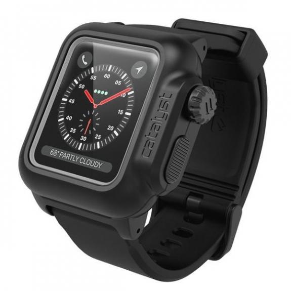 Catalyst vodotěsné pouzdro Apple Watch 42mm - černé CAT42WAT3BLK - možnost vrátit zboží ZDARMA do 30ti dní
