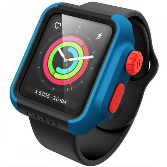 Catalyst Impact kryt na Apple Watch 2/3 42mm - modrý CAT42DROP3TBFC - možnost vrátit zboží ZDAR