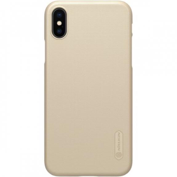 Nillkin Super Frosted kryt pro Apple iPhone X - zlatý 8595642271052 - možnost vrátit zboží ZDARMA do 30ti dní