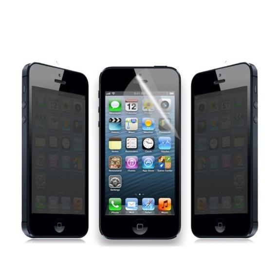 Ochranná 180° privacy antireflexní fólie pro iPhone 5 / 5C / 5S / SE