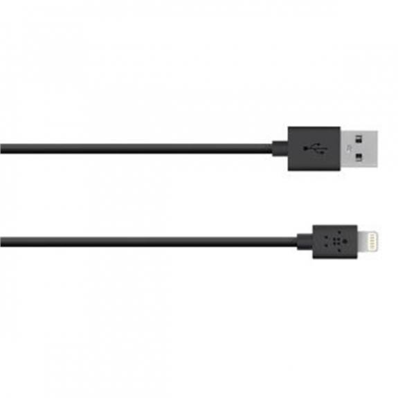 Belkin synchronizační lightning kabel - 1,2m - černý - možnost vrátit zboží ZDARMA do 30ti dní