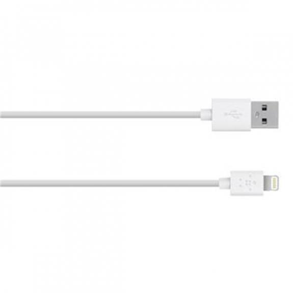 Belkin synchronizační lightning kabel - 1,2m - bílý F8J023bt04-WHT - možnost vrátit zboží ZDARMA do 30ti dní