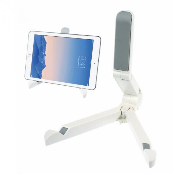 """AppleKing skládací stojánek pro Apple iPad Pro 12.9"""" / iPad Air 2 / iPad Mini 4 - bílý - možnost vrátit zboží ZDARMA do 30ti dní"""