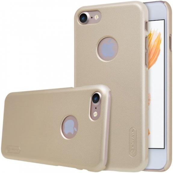 Nillkin Super Frosted kryt pro Apple iPhone 7 - zlatý 8595642241895 - možnost vrátit zboží ZDARMA do 30ti dní