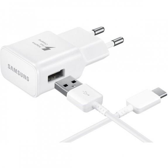 Samsung cestovní nabíječka s kabelem USB-C - bílá (eko-balení) EP-TA20EWE - možnost vrátit zboží ZDARMA do 30ti dní