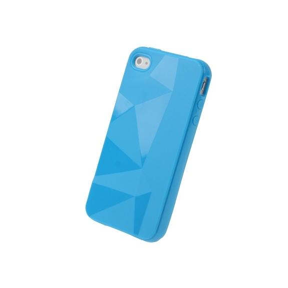 AppleKing ochranné pouzdro pro iPhone 4 / 4S - modré - možnost vrátit zboží ZDARMA do 30ti dní