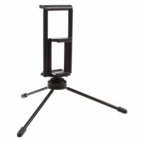 Multifunkční stojánek / tripod pro dvě zařízení - iPhone / iPad - černý