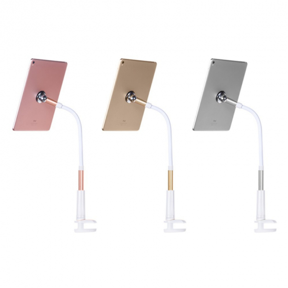 HOCO Magnetický univerzální stojan pro Apple iPad - růžově zlatý - možnost vrátit zboží ZDARMA do 30ti dní