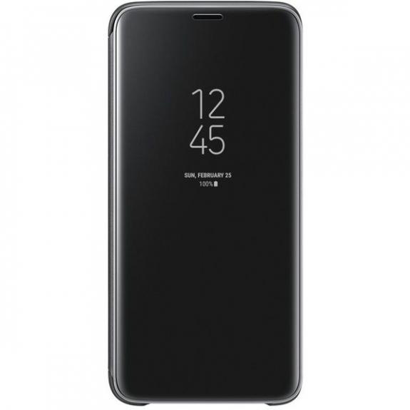 Samsung Clear View flipové pouzdro pro Samsung Galaxy S9 - černé EF-ZG960CBEGWW - možnost vrátit zboží ZDARMA do 30ti dní