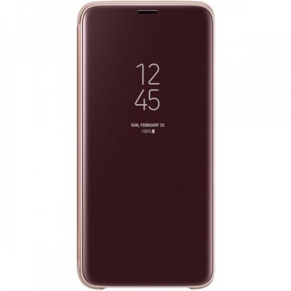 Samsung Clear View flipové pouzdro pro Samsung Galaxy S9 - zlaté EF-ZG960CFEGWW - možnost vrátit zboží ZDARMA do 30ti dní