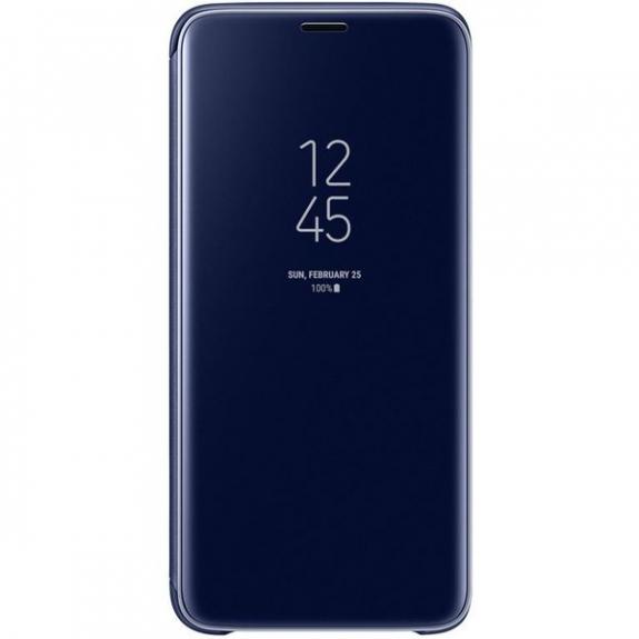 Samsung Clear View flipové pouzdro pro Samsung Galaxy S9 - modré EF-ZG960CLEGWW - možnost vrátit zboží ZDARMA do 30ti dní