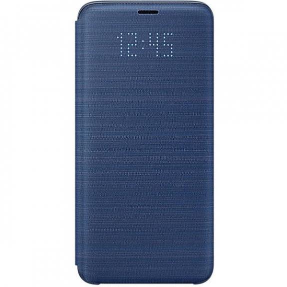 Samsung LED View originální pouzdro pro Galaxy S9 - modré EF-NG960PLEGWW - možnost vrátit zboží ZDARMA do 30ti dní