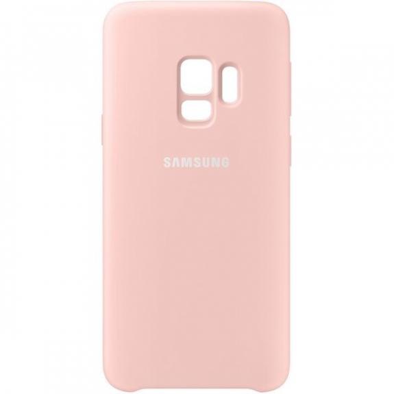 Samsung silikonový zadní kryt pro Samsung Galaxy S9 - růžový EF-PG960TPEGWW - možnost vrátit zboží ZDARMA do 30ti dní