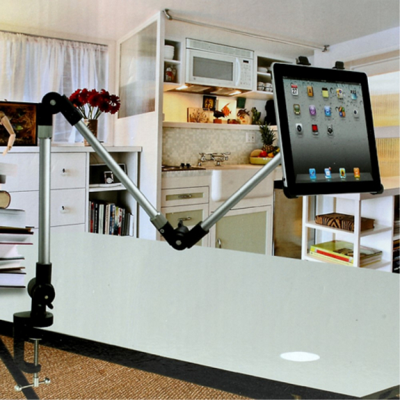 AppleKing nastavitelný držák / rameno pro Apple iPad 4 / iPad Mini - možnost vrátit zboží ZDARMA do 30ti dní