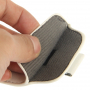 Pouzdro s vytahovacím poutkem pro iPhone 5 / 5S / SE - bílé