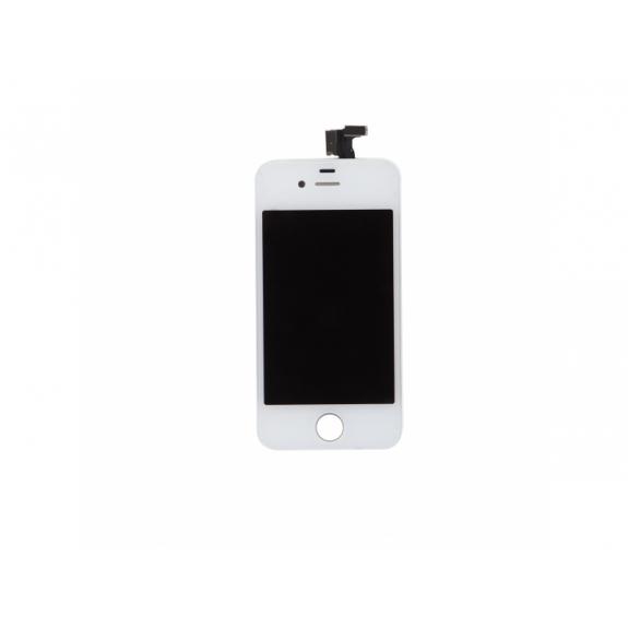 AppleKing náhradní LCD displej s dotykovým sklem a rámečkem pro Apple iPhone 4 - TOP kvalita - bílý - možnost vrátit zboží ZDARMA do 30ti dní