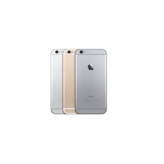 AppleKing zadní náhradní kryt včetně tlačítek pro Apple iPhone 6 - stříbrný - možnost vrátit zboží ZDARMA do 30ti dní