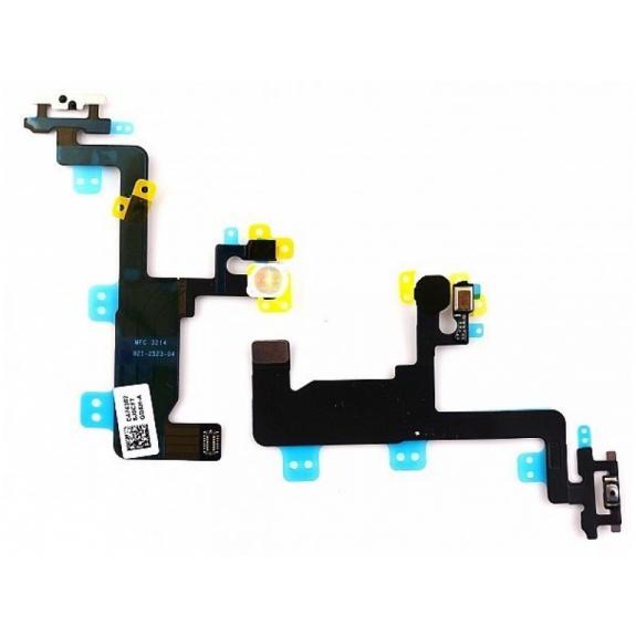 AppleKing flex kabel s mikrospínačem Power, bleskem kamery a vrchním mikrofonem pro Apple iPhone 6 - možnost vrátit zboží ZDARMA do 30ti dní