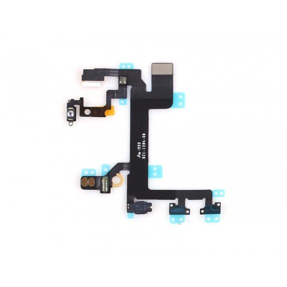AppleKing flex kabel s přepínačem Mute + ovládání hlasitosti + Power spínač pro Apple iPhone 5S - možnost vrátit zboží ZDARMA do 30ti dní