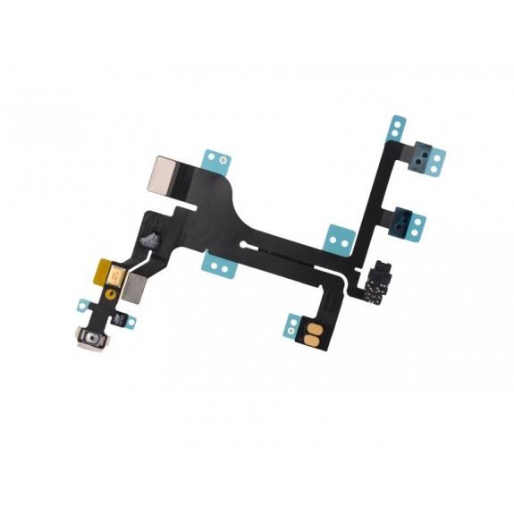 Flex kabel s přepínačem Mute + ovládání hlasitosti + Power spínač pro Apple iPhone 5C - možnost vrátit zboží ZDARMA do 30ti dní