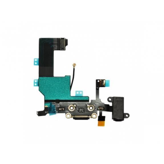 AppleKing napájecí a datový konektor s jack konektorem a flex kabelem pro Apple iPhone 5C - možnost vrátit zboží ZDARMA do 30ti dní