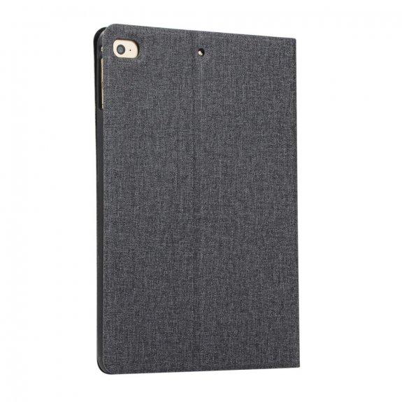 AppleKing pouzdro s textilním povrchem pro iPad mini 4 / 5 - černé - možnost vrátit zboží ZDARMA do 30ti dní