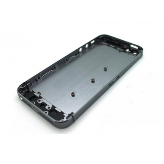 AppleKing zadní náhradní kryt včetně tlačítek pro Apple iPhone 5 - černý - možnost vrátit zboží ZDARMA do 30ti dní