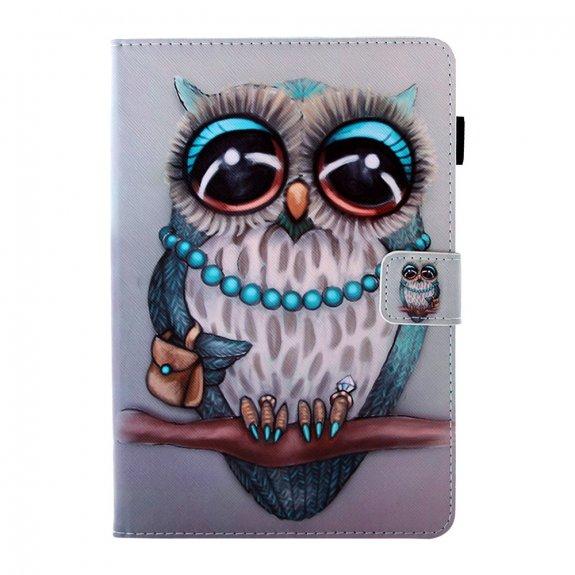 AppleKing peněženkové pouzdro paní sova pro iPad mini 1 / 2 / 3 - barevné - možnost vrátit zboží ZDARMA do 30ti dní