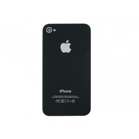 AppleKing zadní náhradní sklo / kryt pro Apple iPhone 4S - černý - možnost vrátit zboží ZDARMA do 30ti dní
