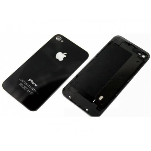 AppleKing zadní náhradní sklo / kryt pro Apple iPhone 4 - černý - možnost vrátit zboží ZDARMA do 30ti dní